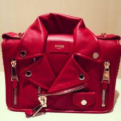 fashion red jackt design  bag! Jeremy Scott 60143be632b