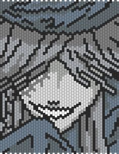 Undertaker from Black Butler bead pattern