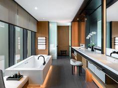 32 Ideas bath room hotel design guest rooms for 2019 Spa Tub, Bathroom Toilets, Bathroom Bath, Bath Shower, Nanjing, Relaxing Bath, Contemporary Bathrooms, Bathroom Interior, Bathroom Ideas