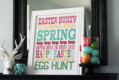 It's here…. go download your Spring Subway Art don't forget… + our 16×20 frame is from Aaron Brothers + we order our prints from Costco (making sure to check the do not autocorrect my printsbox under the edit optionson step 3) + these print great as 8×10's too ENJOY!! ________________ Here's a new Pastel version …