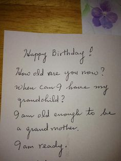 My friend got this birthday card from her mom. Difficulty Level: Korean. - Imgur