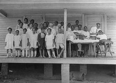 Free dental clinic (Dr. George Cooper) Davidson, 7/11/1923 by State Archives of North Carolina, via Flickr