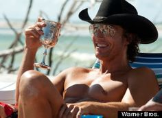 OK Dallas was seriously ridiculus in Magic Mike, but anyone who saw it and didnt think Matthew McConaughey was more fantastic than ever is  a little off. (Btw YES he has a pimp cup in this scene. You want to not like him but Damn., Thats Funny!)