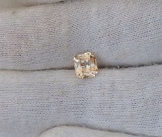 Padparadscha Peach Sapphire Radiant Cut for by PristineGemstones
