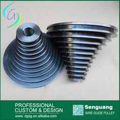 Wire drawing machine cone pulley