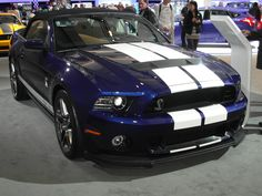Canadian International Auto Show 2012.  Ford Mustang.  Taken by me with my Samsung WB-700