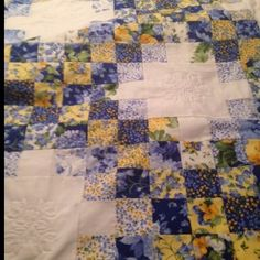 Summer Breeze Double Irish Chain | Quiltsby.me