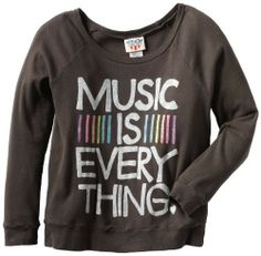 Music Is Everything Sweater on www.amightygirl.com