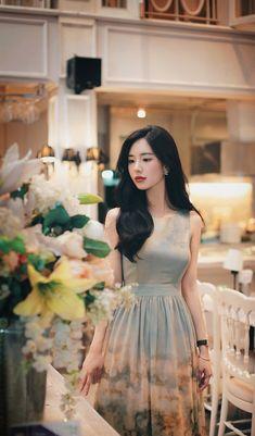 Samantha Subeno's media statistics and analytics Korean Fashion Dress, High Fashion Dresses, Korean Dress, Ulzzang Fashion, Ulzzang Girl, Asian Fashion, Korean Outfits, Girl Fashion, Fashion Looks