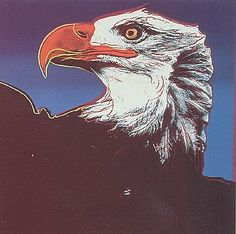 Andy Warhol, Endangered Species: Bald Eagle (FS.II.296), 1983  Screenprint on Lenox Museum Board, 38 x 38 in (96.5 x 96.5 cm)  Signed and numbered in pencil lower left