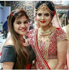 Punjabi Bridal Sweet pics There are different rumors about the real history of the wedding dress; tesettür First Narration; Indian Wedding Makeup, Indian Wedding Bride, Indian Bridal Outfits, Indian Bridal Hairstyles, Indian Bridal Fashion, Indian Bridal Wear, Punjabi Wedding, Wedding Lenghas, Indian Dresses