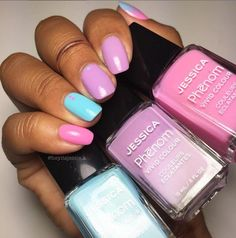 Celestial Blue, Ultra Violet and Electro Pink from the FUTURIST Collection…