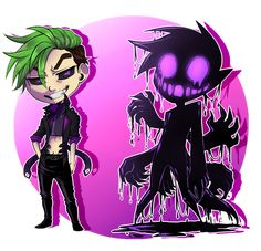 konoira: A chibi Anti! That's his true form on the right :-) therealjacksepticeye: So cool! Jacksepticeye Fan Art, Markiplier, Pewdiepie, Mark And Ethan, Jack And Mark, Jack Septiceye, Yandere, Darkiplier And Antisepticeye, Cryaotic