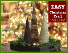 Easy Christmas Craft Idea from JenniferDecorates.com