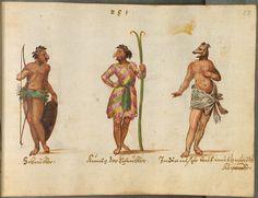 Trajes e ilustraciones de género del siglo XVI de Europa occidental y oriental, el Oriente, las Américas y África — Visor — Biblioteca Digital Mundial
