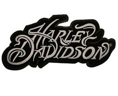 Iron-On or Sew to Any Garment Top Quality, Detailed Embroidery Licensed Product x Harley Davidson Decals, Harley Davidson Posters, Harley Davidson Sportster, Sportster 48, Harley Davison, David Mann Art, Goblin Art, Hd Design, Stickers
