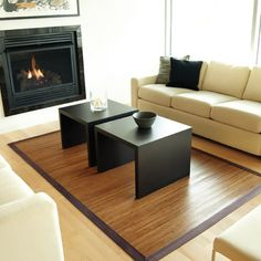 Amazon Bamboo Rug...Bamboo is highly sustainable product....buy more of this and less of wood if possible...