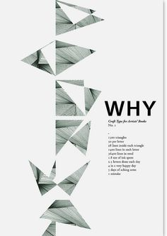 Poster Proposal (Why + Shape) Graph Design, Booklet Design, Brochure Design, Layout Design, Logo Design, Typography Layout, Lettering, Geometric Shapes Design, Newsletter Layout