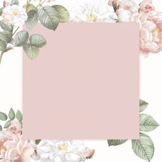 Elegant floral frame design vector | premium image by rawpixel.com / Donlaya / ploy / manotang