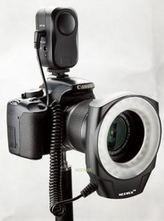 If you hate using an on camera flash and are into Portraits or Macro this is a brilliant piece of kit. NEEWER® Macro Ring LED Light - Works with Canon/Sony/Nikon/Sigma lenses Canon Macro, Sigma Lenses, Led Ring Light, Light Works, Photography Camera, Photography Tips, Photography Lighting, Photography Projects, Photography Business