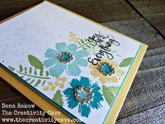 Stampin Up's April Paper Pumpkin Bonus Stamp Set makes some great happy cards! More on my blog!