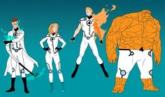Fantastic Four by Kris Anka