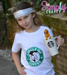 Lion King Starbucks Coffee Shirt