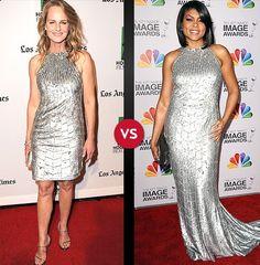Helen Hunt vs. Taraji P. Henson. Who Wore it Best?