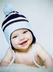 cutest babies, babi smile, baby boys, babi boy, awesome boy names, ador, pretti boy, hat, kid