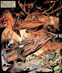 Nemesis The Warlock by Kev O'Neill