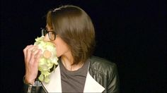 She is adorable eating veggies: | 10 Reasons Michelle Chamuel Is The Most Adorkable Singer Ever