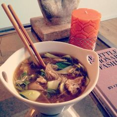Crockpot Chicken Pho Recipe. - Might have to try this since the husband is too scared to try pho at a restaurant