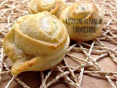 Roselline di pane al parmigiano