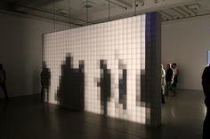 who: Aram Bartholl Installation Interactive, Interactive Exhibition, Interactive Walls, Exhibition Display, Exhibition Space, Interactive Design, Installation Art, Art Installations, Land Art
