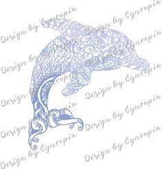 Delfin zendoodle plott