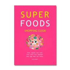 Super foods are the ultimate health foods. They provide the body with all necessary nutrients and vitamins. They protect against diseases such as cancer, diabetes, heart attack or stroke.