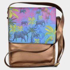 Tamara Elephant Stroll Sling Bag by India Circus http://www.tadpolestore.com/india-circus #India #Indian #designer #bags #india_circus #accessories #sling_bag