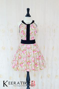 Luna Night Sweet Dress Pleated Top Pink Floral Pale Olive Green Dress Floral Wedding Bridesmaid Dress Pink Floral Party Dress XS-XL