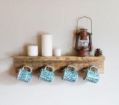 Handmade Mug Rack Designs