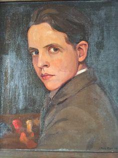 Self-portrait of my father. Joris Van Elst. (1908-1991) 1936