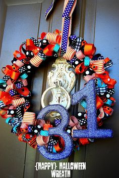 @Mia Pace-- I know this is supposed to be a Halloween wreath, but we could work you one up for Thirty-one parties!