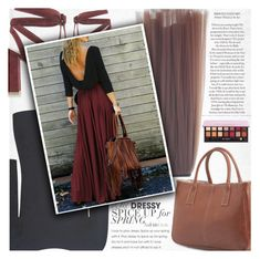 """""""Backless Maxi dress"""" by vanjazivadinovic ❤ liked on Polyvore featuring Gianvito Rossi, Theory, Marni, Anastasia Beverly Hills, polyvoreeditorial and twinkledeals"""