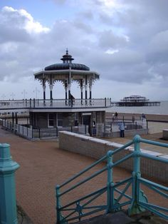Renovated bandstand on Brighton & Hove seafront