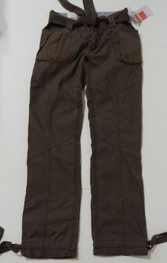 """Mossimo Supply Co. Women's Brown """"Scrub Pant"""" Casual Pant Size 1 NWT #Mossimo #CasualPants"""