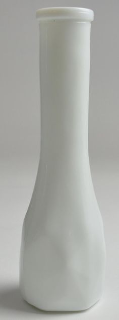 Large Milk Glass Pedestal Vase Compote Fruit Bowl Harvest Grapes