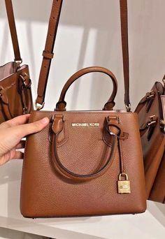 66b7d21063c7 New Michael kors Adele Medium Mercer Messenger Handbag ( Luggage Brown )