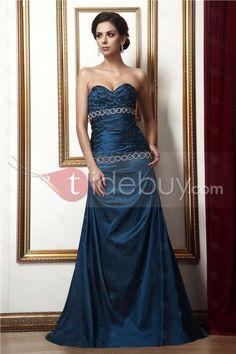 Elegant A-Line Floor-Length Sweetheart Taline's Evening Dress