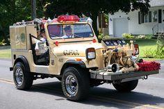 Latham NY Fire Dept Jeep CJ-7