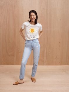 3d7c90473 madewell perfect summer jeans worn with madewell x unfortunate portrait it  goes down in the pm