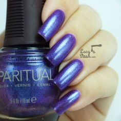 SpaRitual Illuminate Collection Holiday 2013: Intellect, Intention and Intuition - Review & swatches ~  The Intuition colour